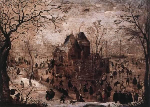 Winter landscape 1605 10 xx wallraf richartz museum cologne